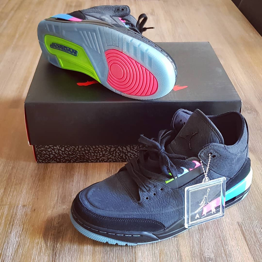 d42c3a8dc66c Comment acheter la Air Jordan 3 Retro Q54 Quai 54 Q54 2018 Love The ...