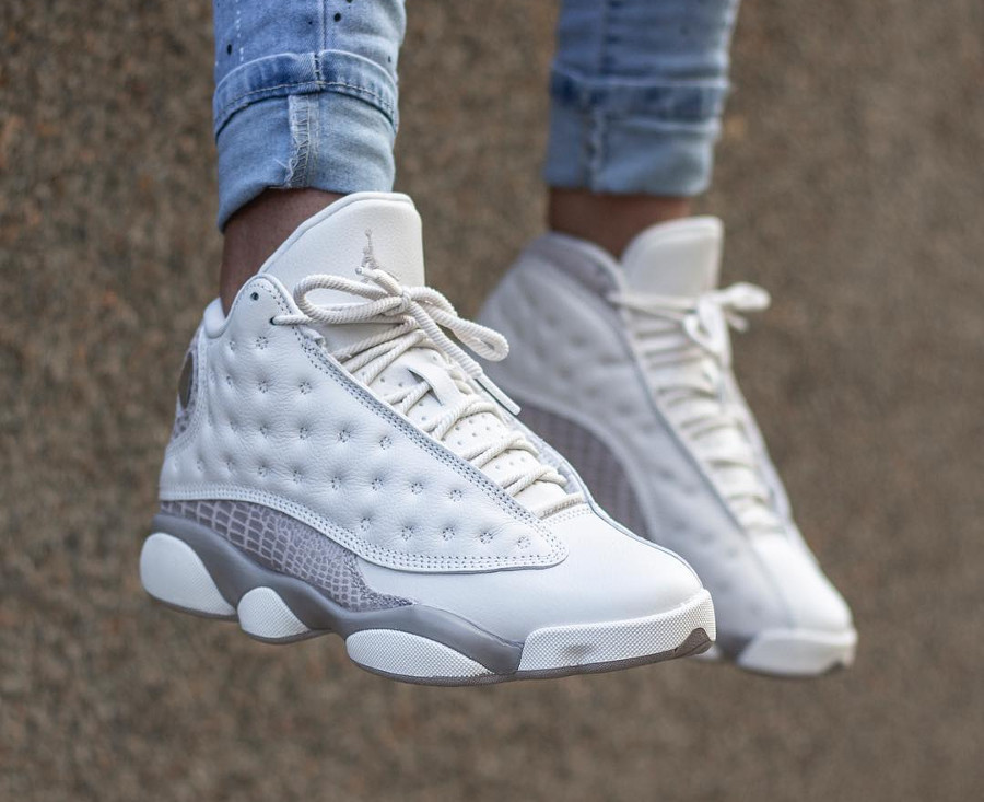 utterly stylish how to buy free delivery Où acheter la Air Jordan 13 Retro Croc Moon Particle Phantom ?