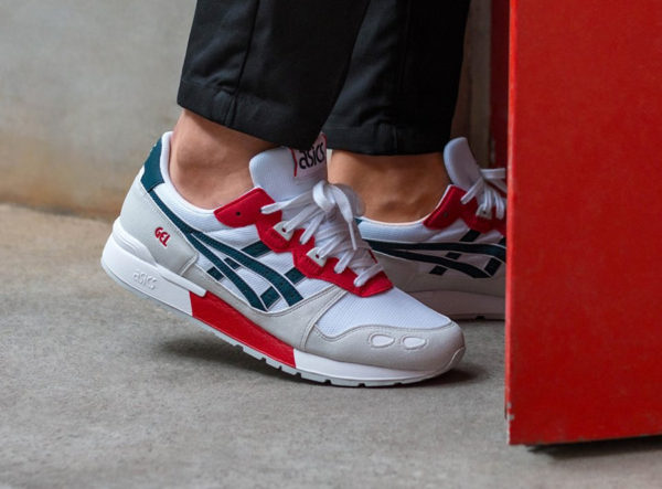 Asics Gel Lyte 'White Dark Ocean'