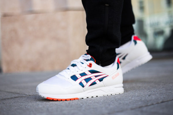 Asics Gel Saga 'White Flash Coral'