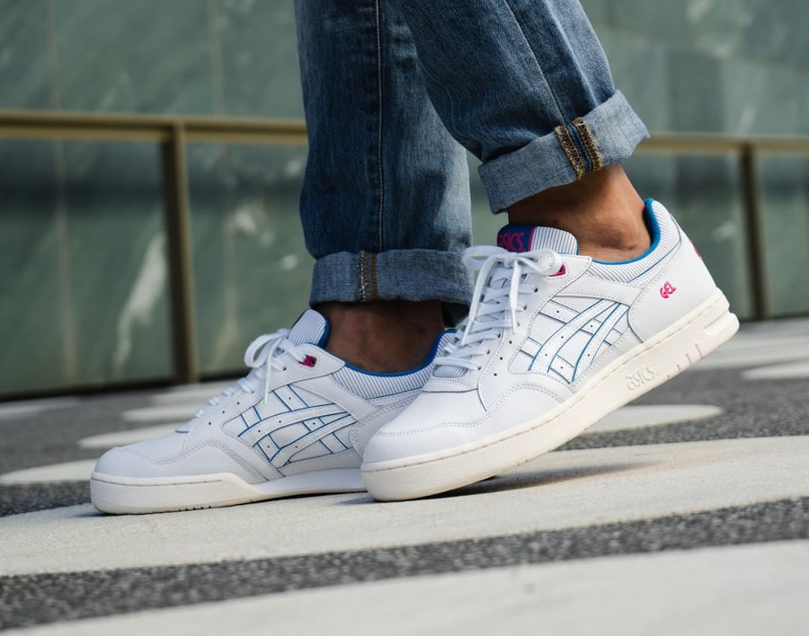 asics tiger blanche