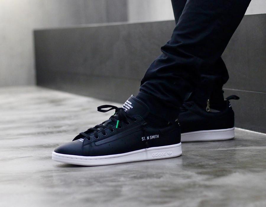 mita-adidas-consortium-adidas-stan-smith-zip-black-on-feet-BB9252 (2)