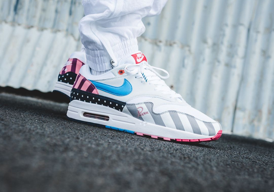 Parra x Nike Air Max 1 White Multicolor