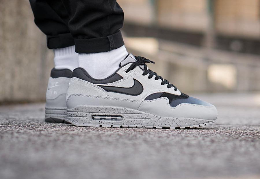 Nike Air Max 1 Premium 'Pure Platinum' Gradient Toe