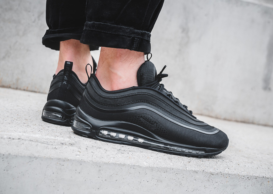 Nike Air Max 97 Ultra '17 'Triple Black'