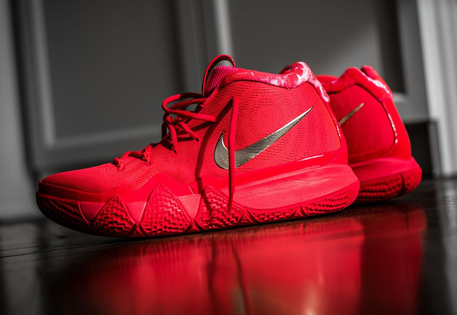 Nike Kyrie 4 'Red Carpet' Red Orbit Metallic Gold