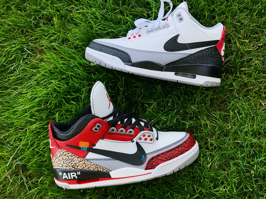 Off White x Air Jordan 3 Retro NRG Tinker 'Chicago'