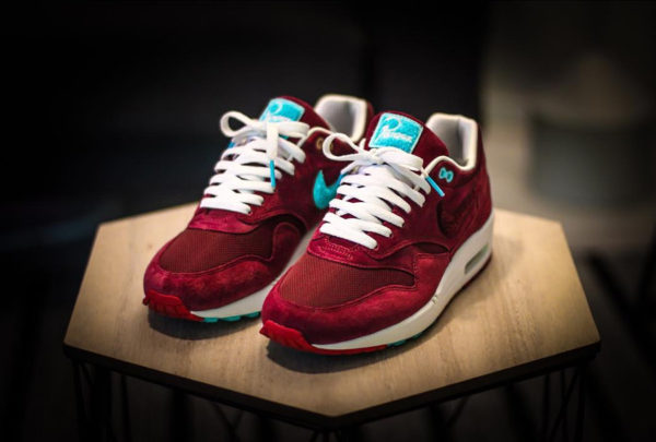 La Parra x Patta x Nike Air Max 1 'Burgundy', la plus belle AM1 de tous les temps ?