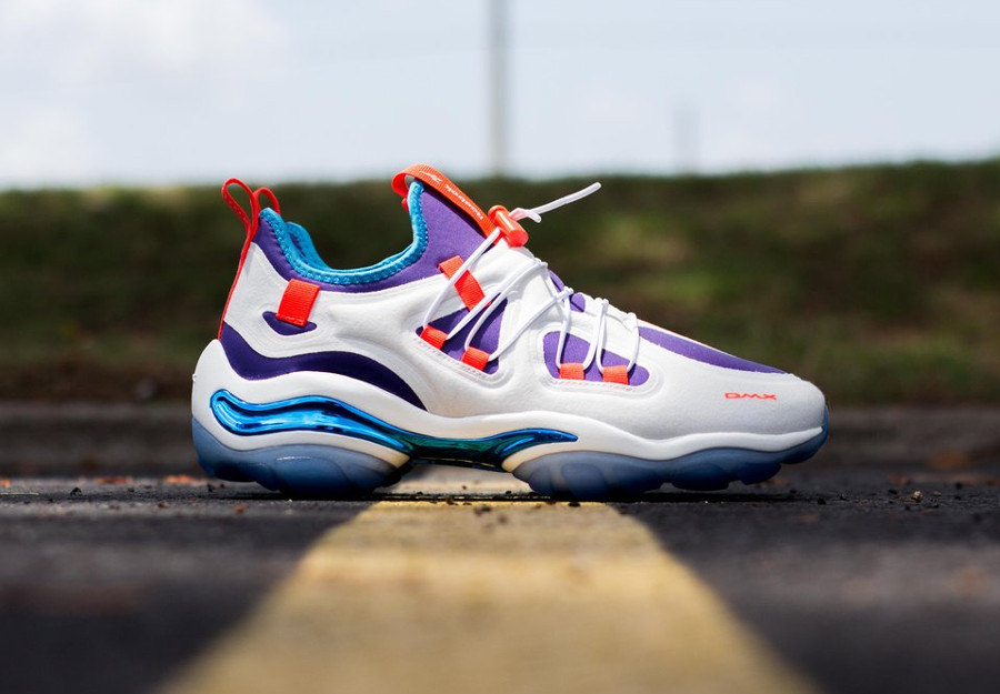 Reebok DMX 2000 Series 'Chalk White Royal Orchid'