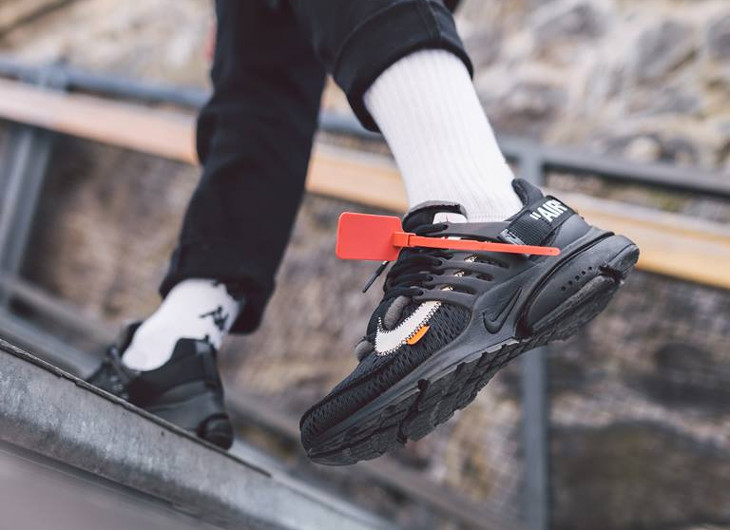 Nike Air Presto Off White 'Black White' The Ten