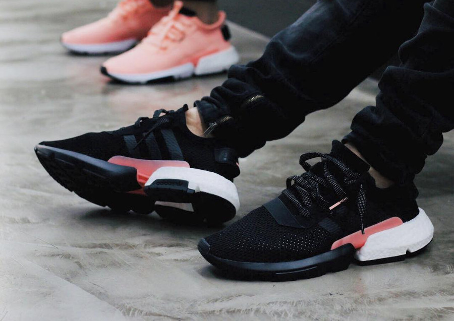 Comment acheter la Adidas POD-S3.1 'Core Black Clear Orange' ?