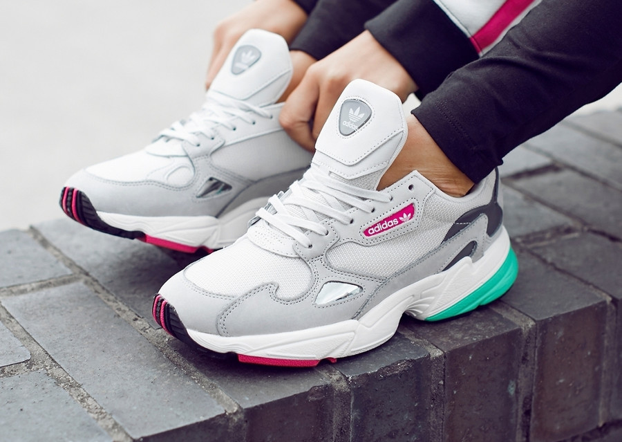 Adidas Falcon W 'Triple Grey'