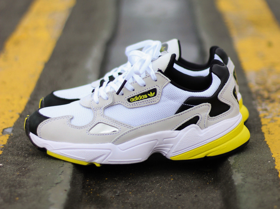 Size? x Adidas Originals Falcon W Acid House