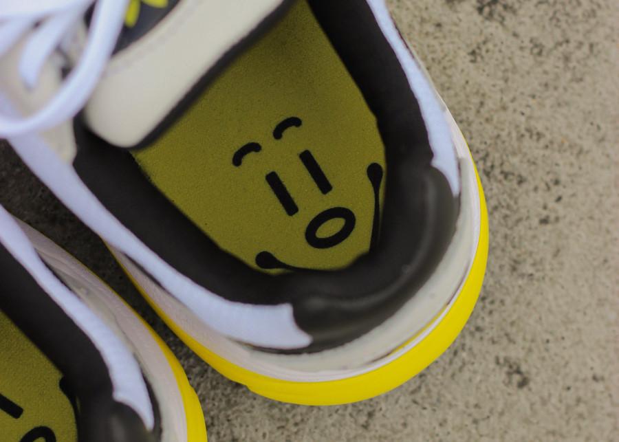 adidas falcon femme jaune noir
