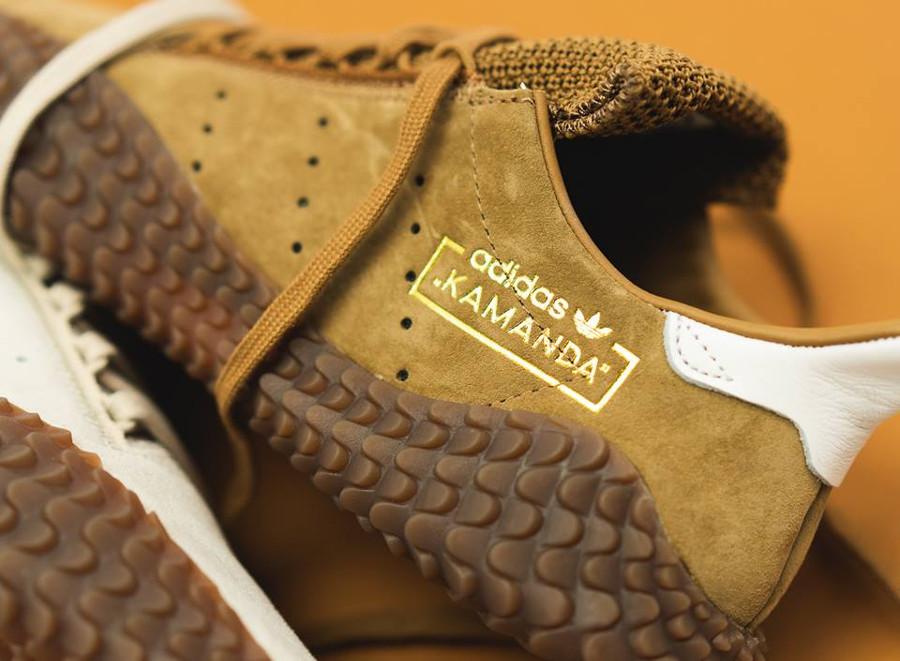 Adidas Kamanda 01 Raw Desert & Crystal White (Gum Pack)