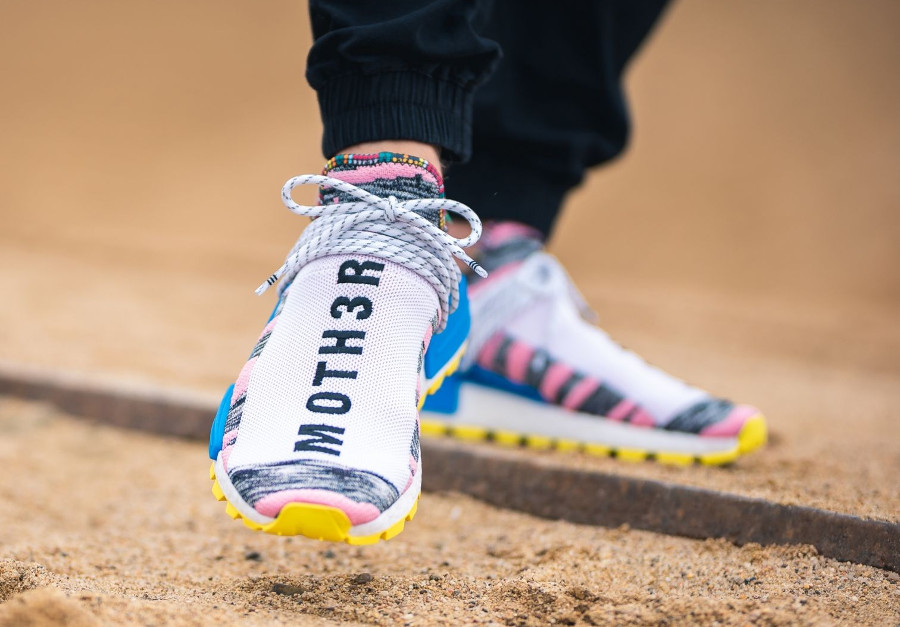 adidas human race rose