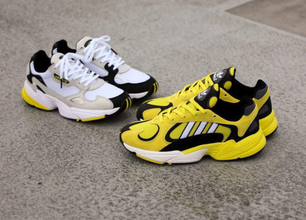 adidas falcon homme or