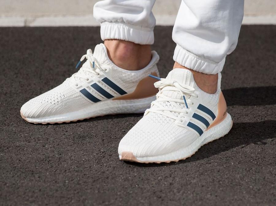 acheter de nouveaux soldes 2019 meilleures ventes Que vaut la Adidas UltraBoost 4.0 'Cloud White' (Show Your ...