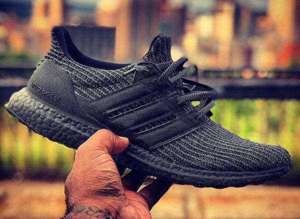 acheter chaussure Adidas Ultra Boost 4.0 Triple Black (toute noire)