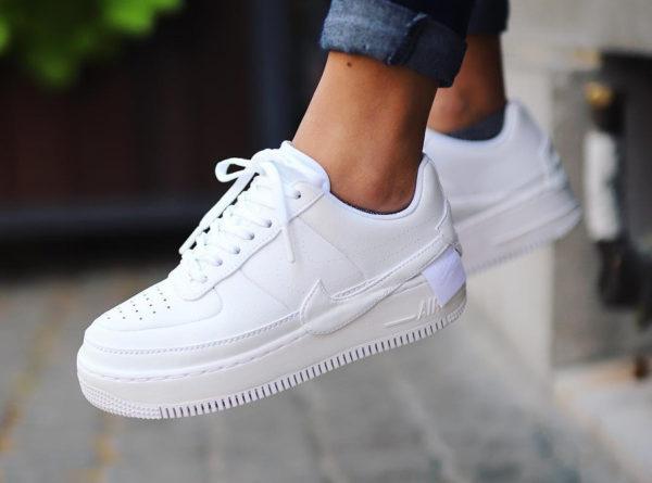 sale retailer 74e05 8d402 Comment acheter la Nike Air Force 1 Jester XX blanche  Triple White