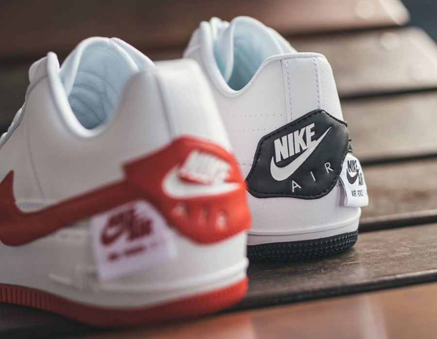 nike air force 1 jester femme rouge