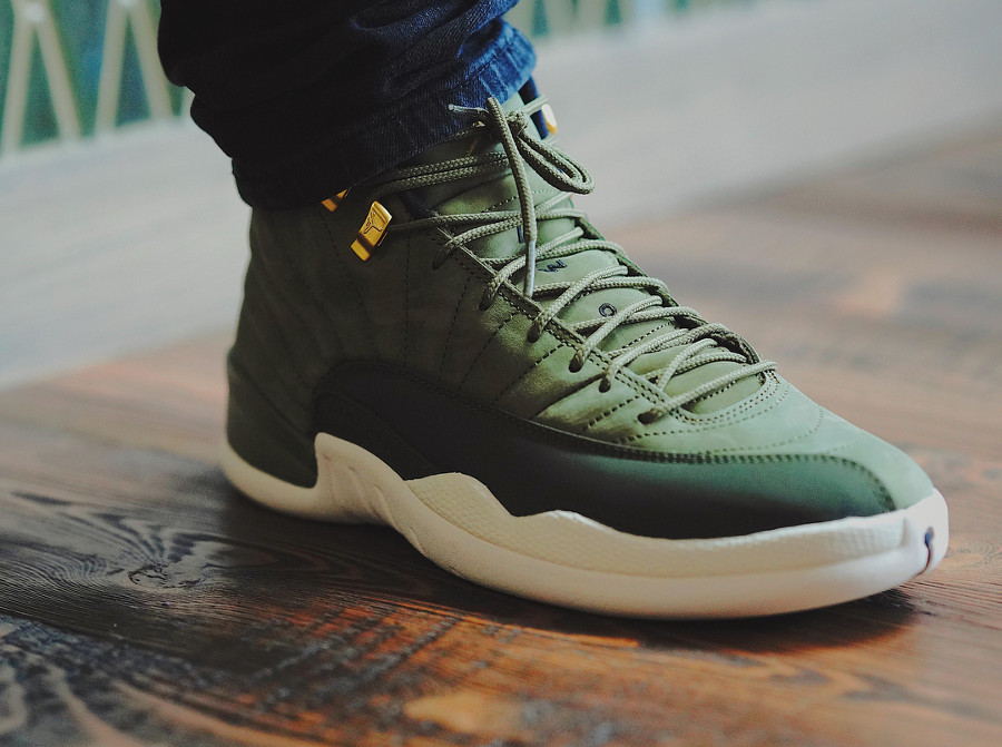 uk availability 61cc0 f9c36 Que vaut la Air Jordan 12 Retro CP3 Olive Canvas Class of 2003 ?