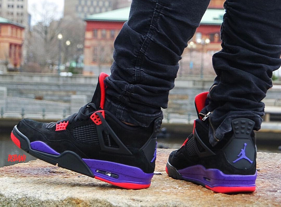 Air Jordan 4 Retro NRG 'Black Court Purple'