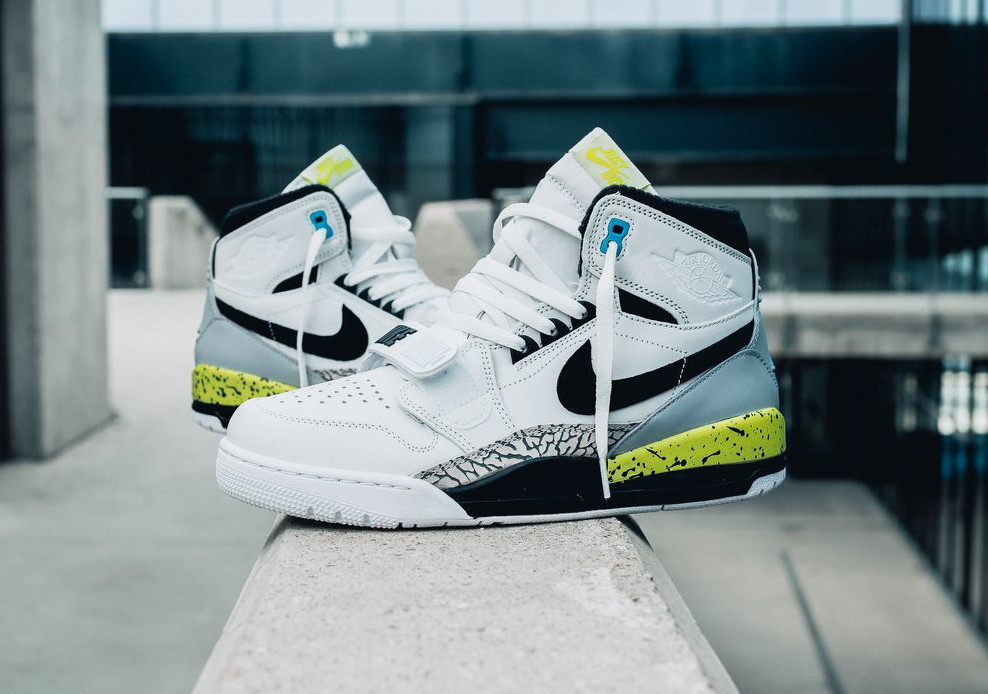 [Nike Pack] Don C x Air Jordan Legacy 312 'Volt' Command Force