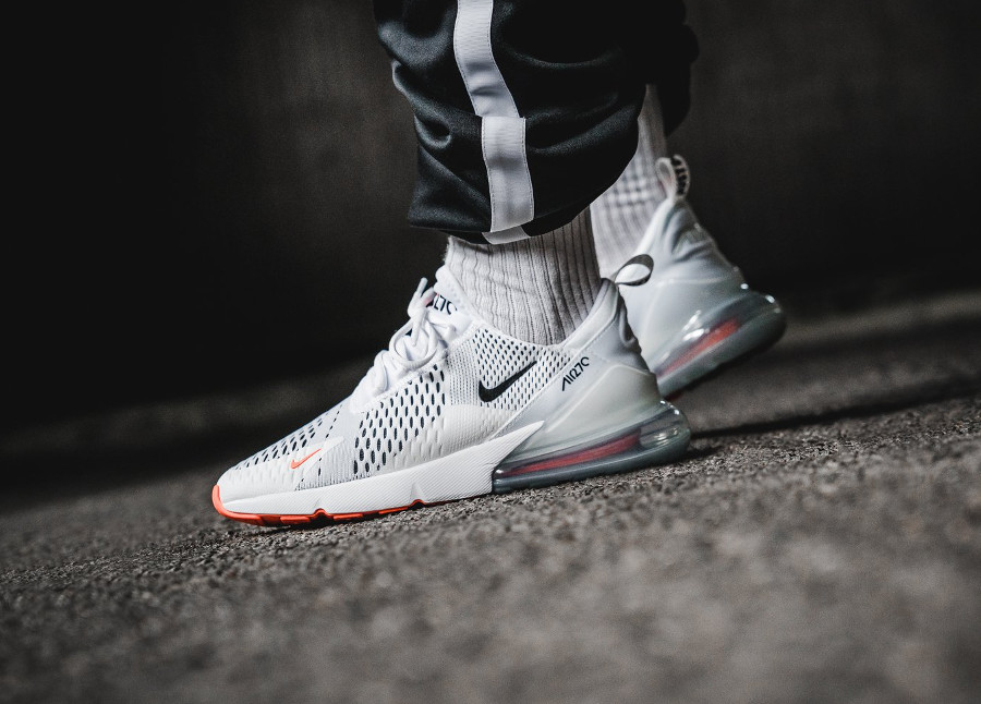 Nike Air Max 270 Pull Tab 'Just Do It' White & Black