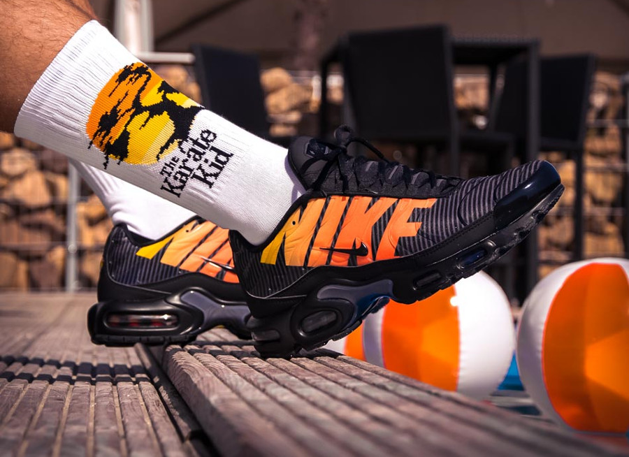 Que vaut la Nike Air Max Plus TN SE Requin Stripes Black
