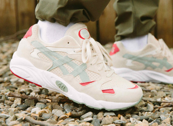 acheter Asics Gel Diablo Birch Seaglass on feet