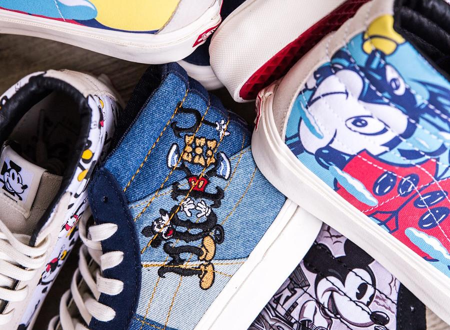 e4086c16ac Vous êtes ici   Sneakers-actus → Vans → Vans SK8 → Vans Vault OG SK8 Hi LX   Mickey Mouse