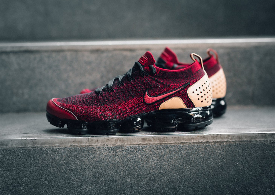 Nike Air Vapormax Flyknit 2 NRG 'Team Red Vachetta Tan'