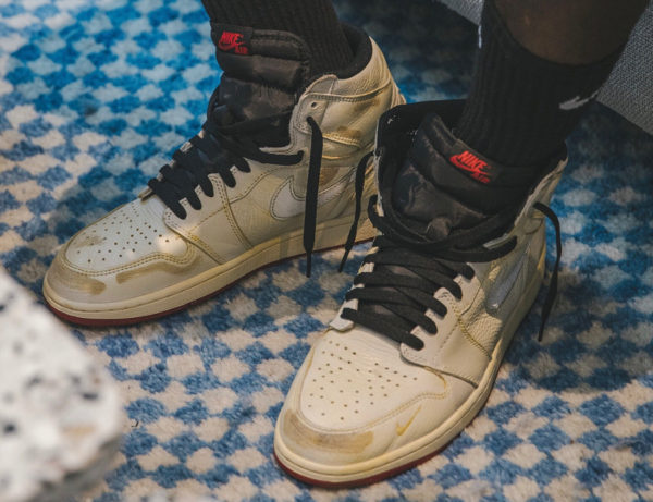 Nigel Sylvester x Air Jordan 1 High Retro OG 'Sail'
