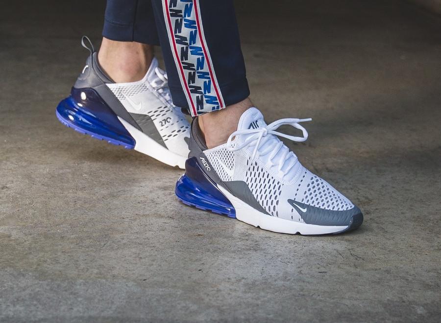 air max 270 bleu gris