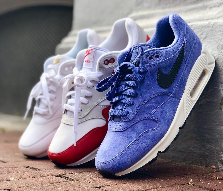 autumn shoes separation shoes hot product Que vaut la Nike Air Max 90/1 Violet Purple Basalt Suede ?