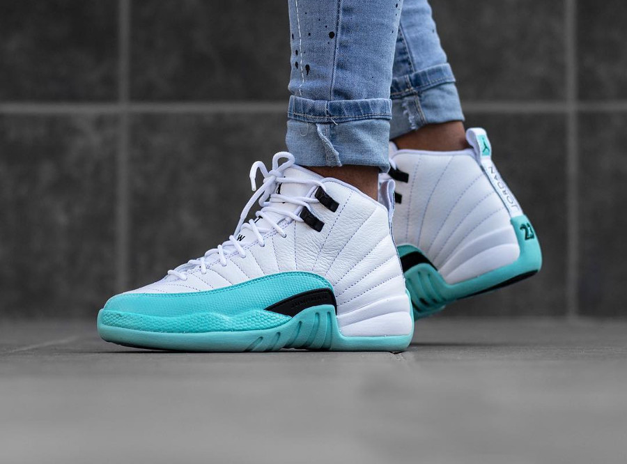 plus de photos d4d8d 7a2a9 Que vaut la Air Jordan Retro 12 Retro GS GG 'Light Aqua Blue' ?