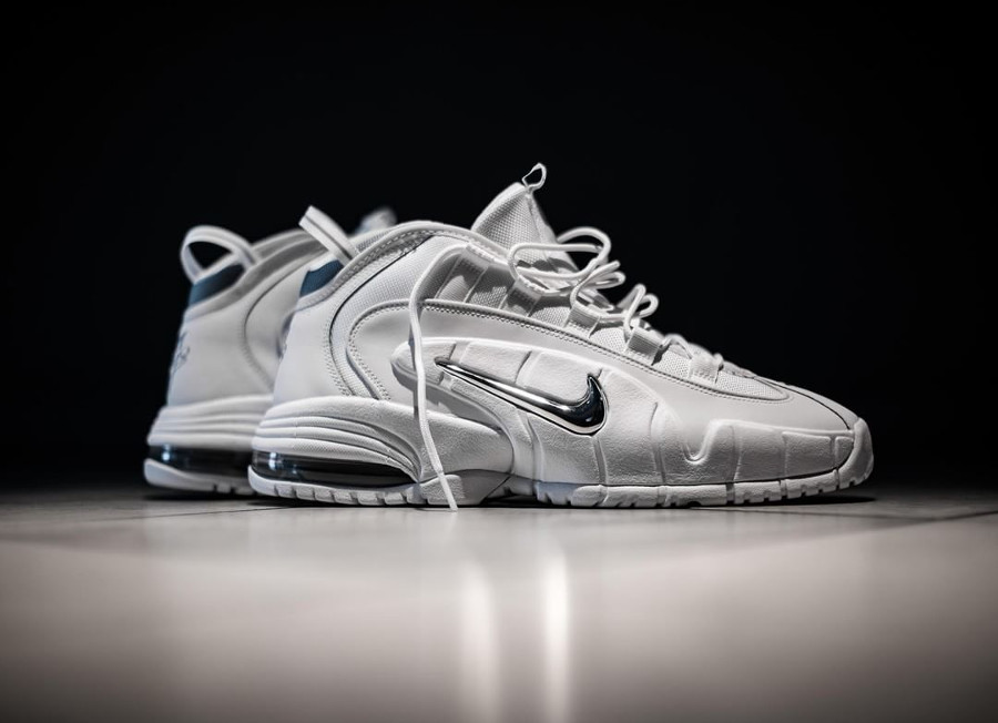 Nike Air Max Penny 1 'White Metallic Silver'