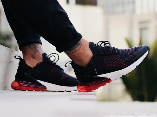 9c90bc1761497 Que vaut la Nike Air Max 270 Oil Grey Habanero Red ?