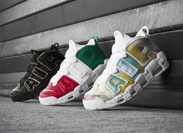 online store a84b1 03b36 Nike Air More Uptempo Scottie Pippen Europe International Pack