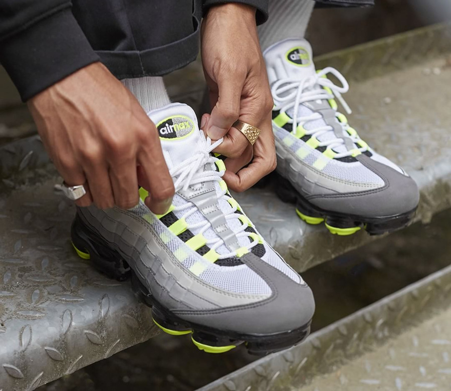 Comment acheter la Nike Air Vapormax 95 VM OG Neon Volt ?
