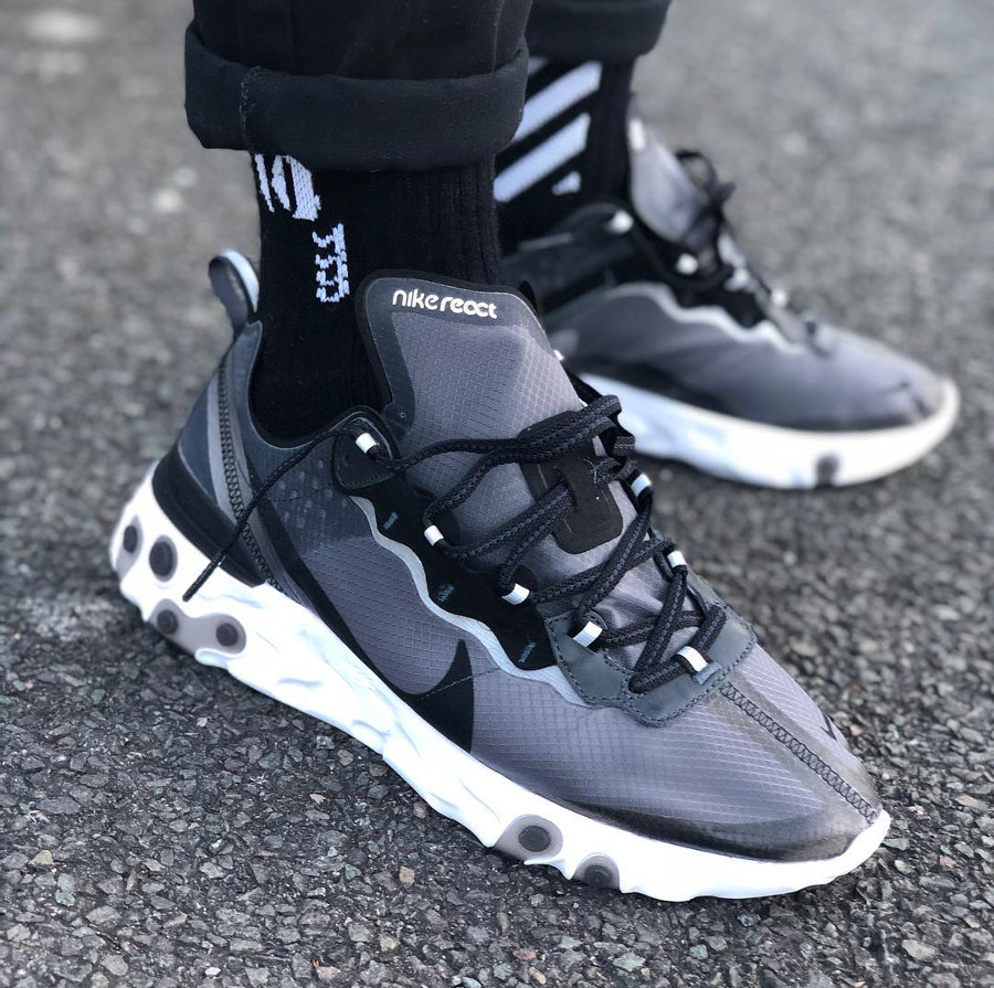 nike-react-element-87-anthracite-black-chaussettes-noires-@ediz