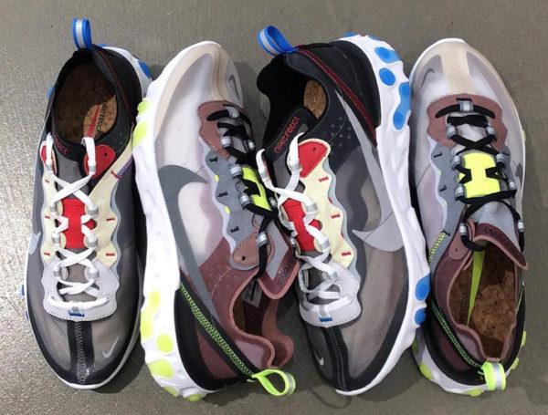 Nike React Element 87 'Dark Grey & Desert Sand'