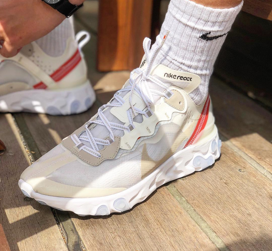 nike-react-element-87-sail -light-bone-chaussette-nike-blanche- @emil_bram