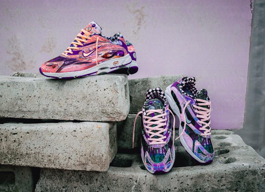 Nike Zoom Streak Spectrum Plus 'Checkerboard' Melon Tint & Court Purple