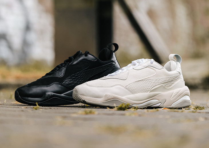 Puma Thunder Desert Tonal 'Bright White & Triple Black'