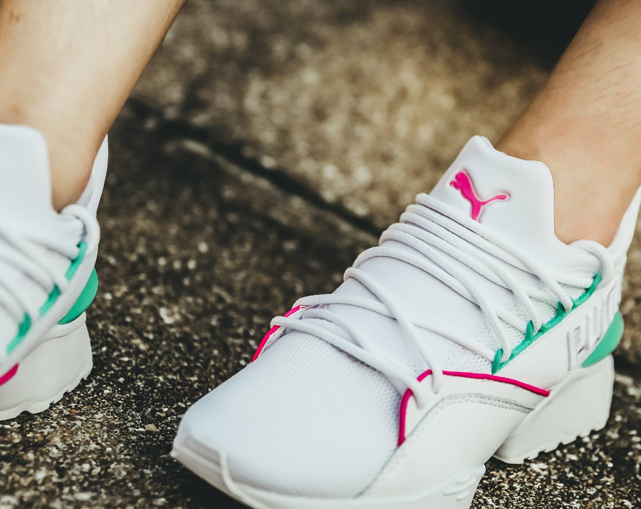 puma-muse-evolution-street-1-Wn'S-blanche-rose-turquoise (4)