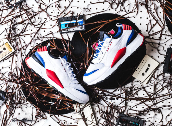 Puma RS-0 Sound 'White Dazzling Blue & Knockout Pink'
