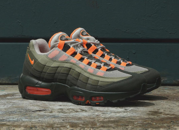 premium selection 1a822 817d2 acheter chaussure nike air max 95 og total orange 2018
