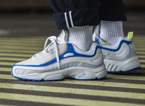 acheter Reebok Daytona DMX Spirit White Blue Lemon